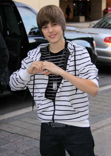 Justin Bieber has to let his music speak for him. picture