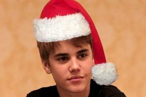 Justins Christmas album  picture